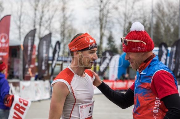 Jan Zemaník na Ještěd Skyrace 2017