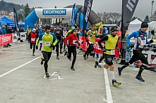 Start závodu Winter SkyRace 2016
