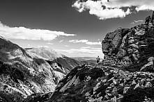 Běžec v Pyrenejích